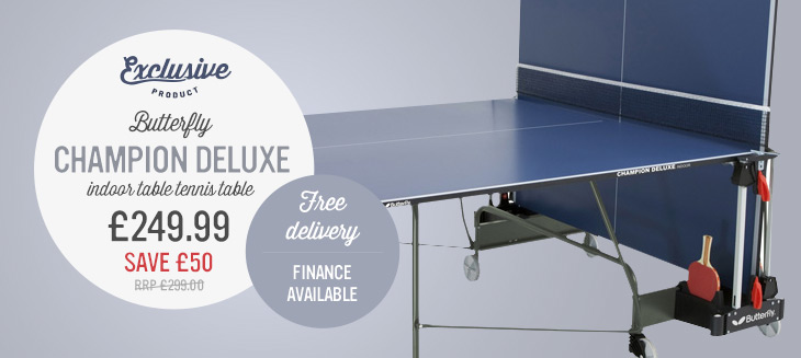 Butterfly Champion Table Tennis Table from only £299.97