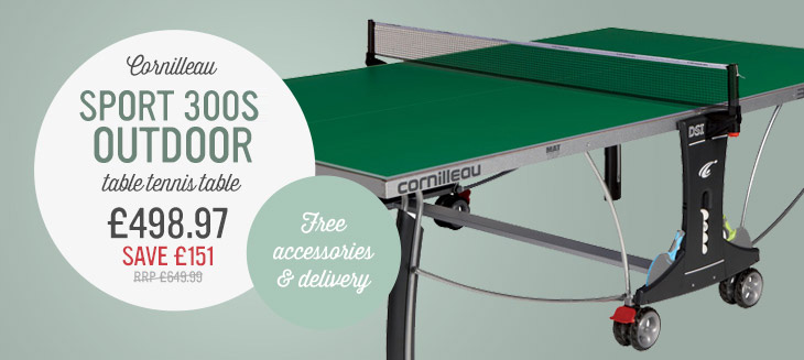Cornilleau Sport 300S Outdoor Table Tennis Table only £498.97