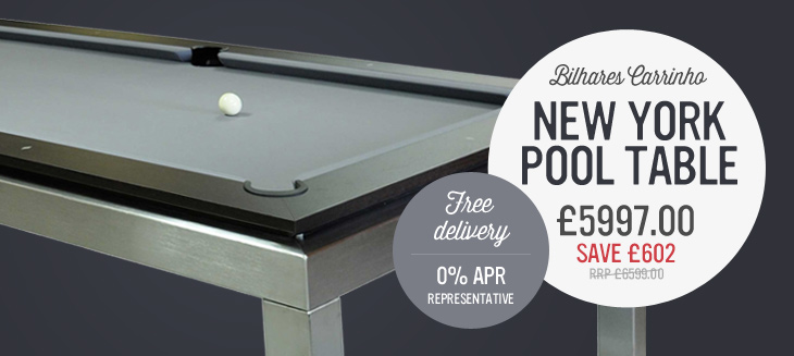 New York Pool Table only £5997 with Free Accessories & Delivery