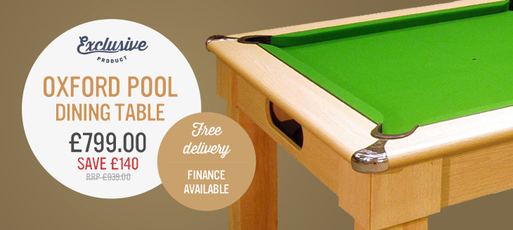 Oxford Pool Dining Table only £799.00