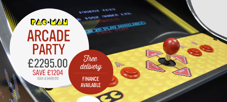 Pac-Man's Arcade Party only £2,295
