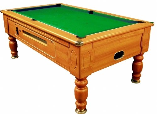 Optima Coin-Op Pool Table - 6ft, 7ft