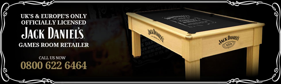 ... Pool Accessories · Football Tables · Jack Daniels. Why Buy From Home  Leisure Direct?
