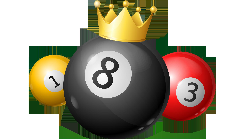 Racking Billiards 8 Ball Billardkugeln Gelegt In Ein