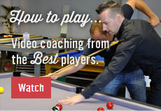 Video coaching from the best players.