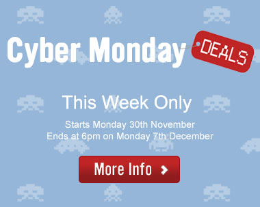 Cyber Monday Deals! This week only.