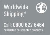 Worldwide Shipping! Call us on 0800 662 6464