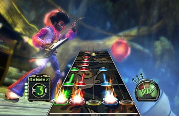 Guitar Hero Screenshot 1