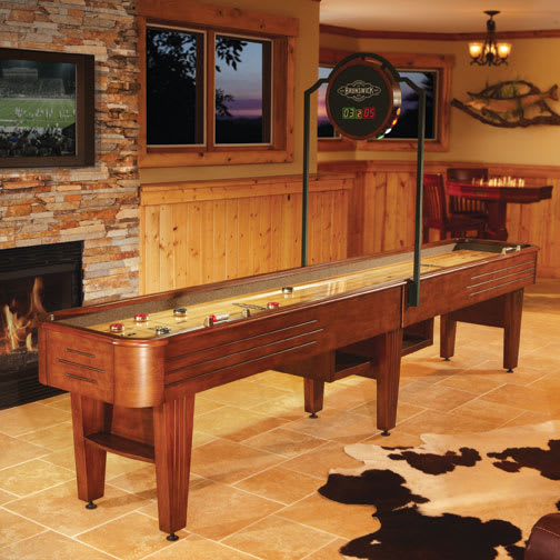 Brunswick Andover Shuffleboard Chestnut Home Leisure Direct