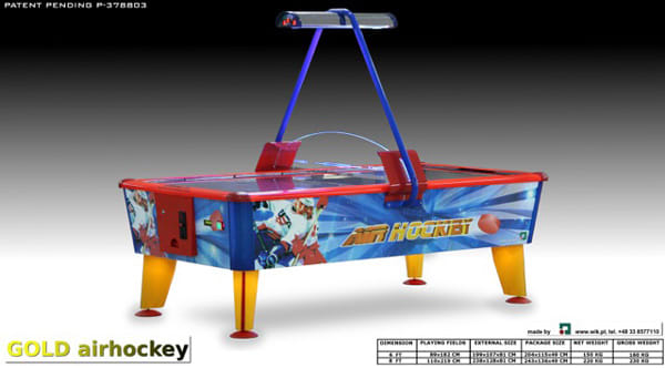 WIK Gold Air Hockey Table 1