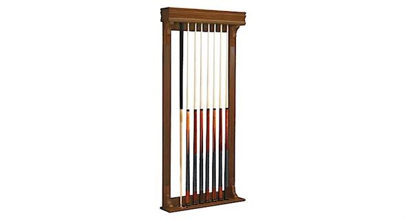 Brunswick Traditional Wall Cue Rack
