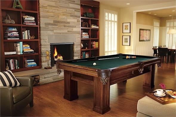 Brunswick Oakland II American Pool Table - 8ft