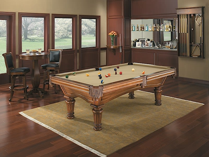 Brunswick Glenwood Pool Table - Room Shot