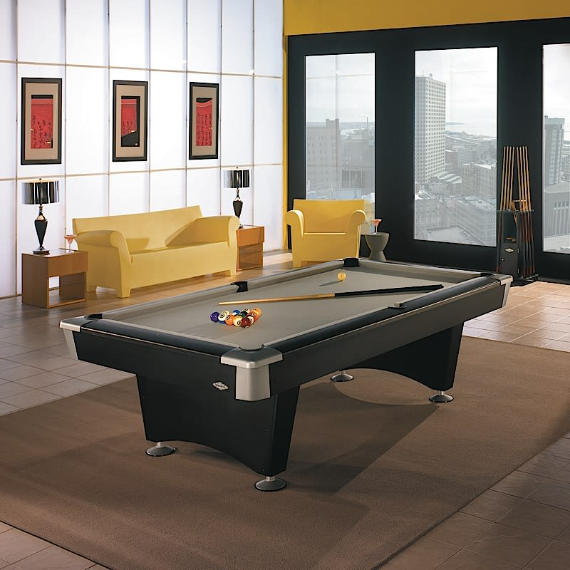 Brunswick Black Wolf Pool Table - Room Shot