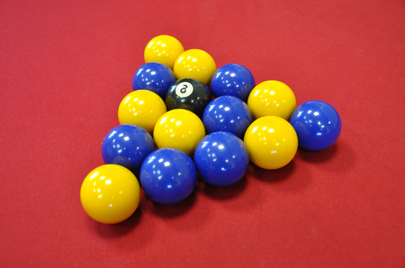 Standard Blues and Yellows Balls