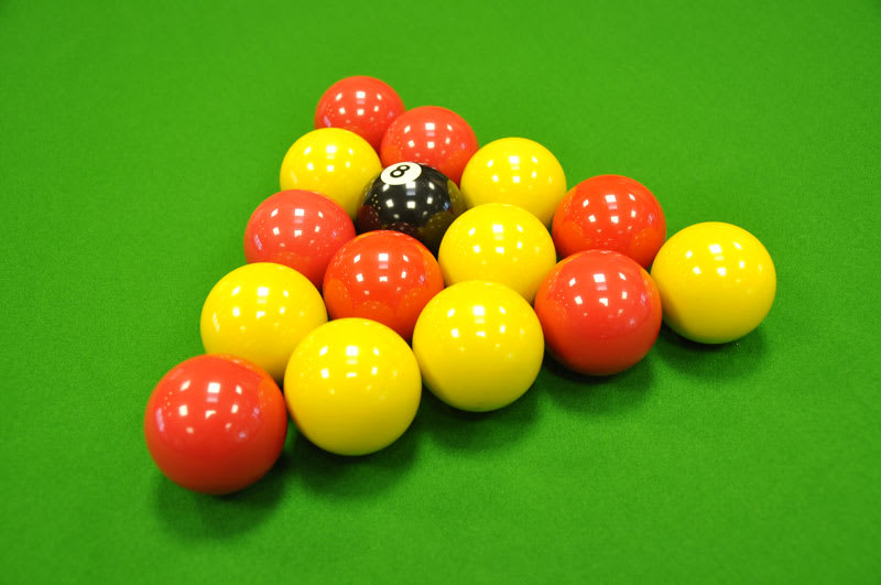Standard Reds and Yellows Balls