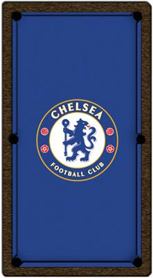 Chelsea FC Pool Table Cloth - 7ft