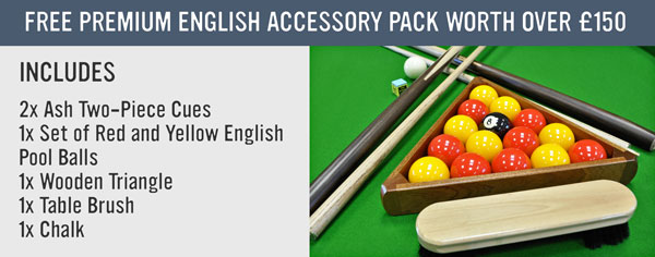 Premium English Pool Accessories Pack