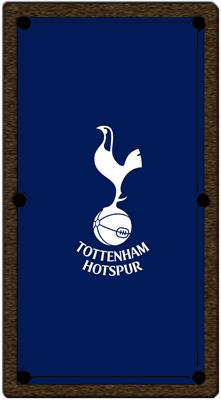 Tottenham Hotspur FC Pool Table Cloth - 6ft
