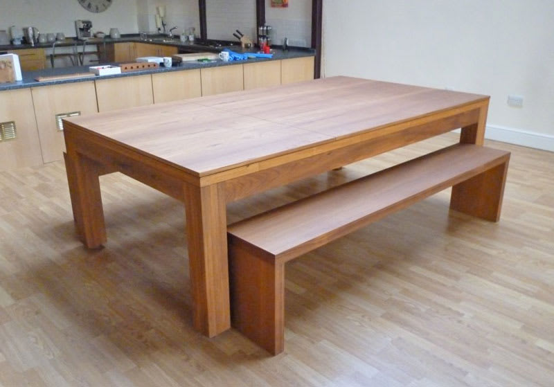 Teak Lewis with Table Tops & Benches