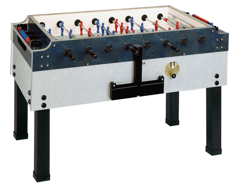 An image of Garlando Olympic Silver Football Table - Outdoor