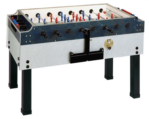 Garlando Olympic Silver Football Table - Outdoor