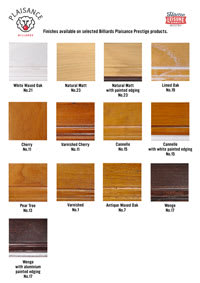 Billards Plaisance Wood Samples Card Prestige - 200px