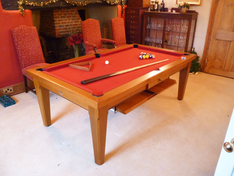 Billards Plaisance Cannelle Pool Dining Table