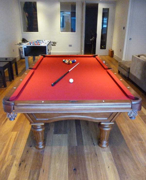 Brunswick Billiards Glenwood American Pool Table Home Leisure Direct in Games Room