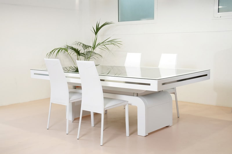 Etrusco Contemporaneo Pool Table - with Top and Chairs