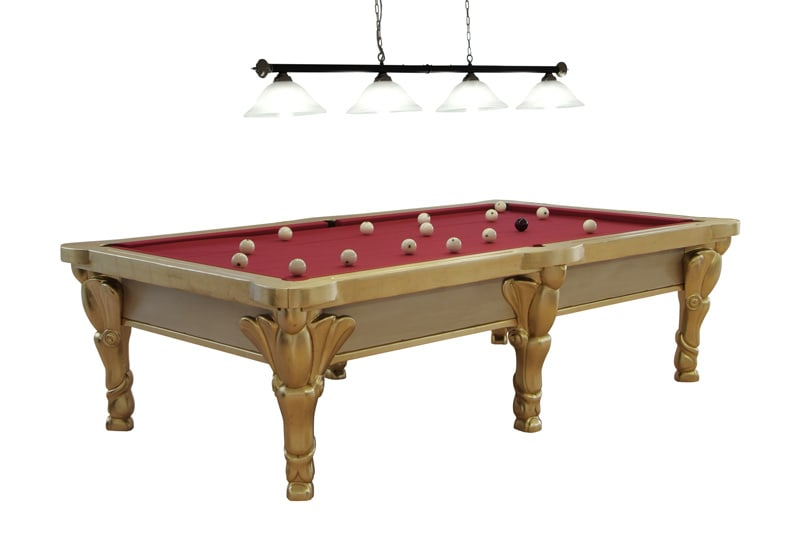 Etrusco Oscar Alato Pool Table with Lighting