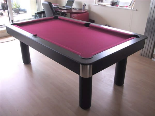 An image of Longoni Fire Pool Table - 7ft, 8ft