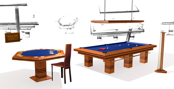 Games Rooms for Interior Designers