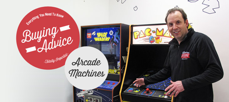 Arcade Machine Buying Advice