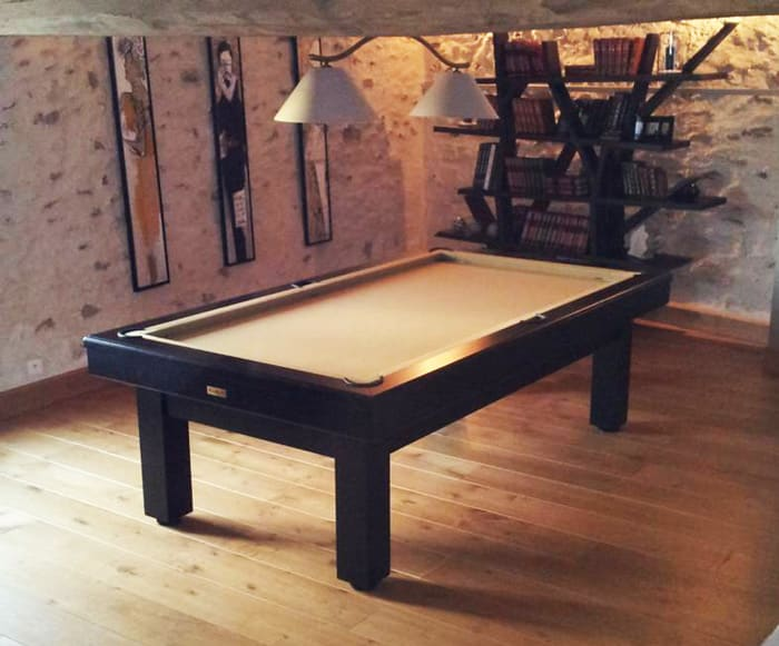 Keops Pool Table - Black