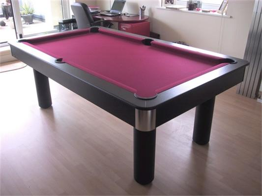 Longoni Fire Pool Table - 7ft, 8ft