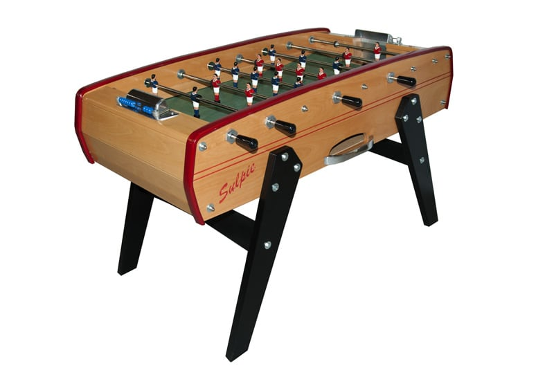 Football Table Foosball Table Sulpie Fussball Table Evolution Beech Home Leisure Direct
