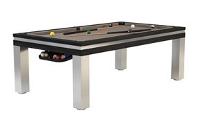 Billards Montfort Lancaster Stainless Steel Pool Table