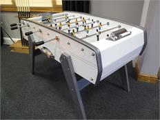 Sulpie Evolution Football Table - High Gloss White - Special Offer