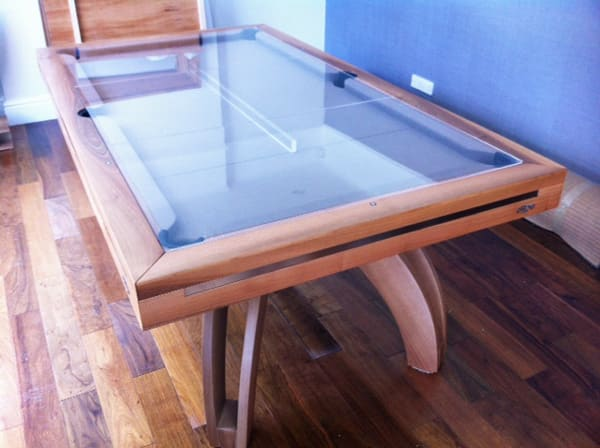 Etrusco P40 Pool Dining Table with Glass Top
