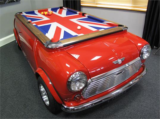 Mini Cooper Pool Table - Fibreglass Body