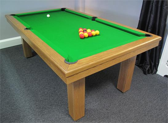 Billards Montfort Aldernay Pool Table - Oak
