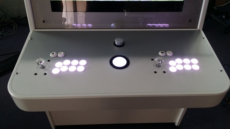 Nu Gen Arcade Machine - Glowing Buttons