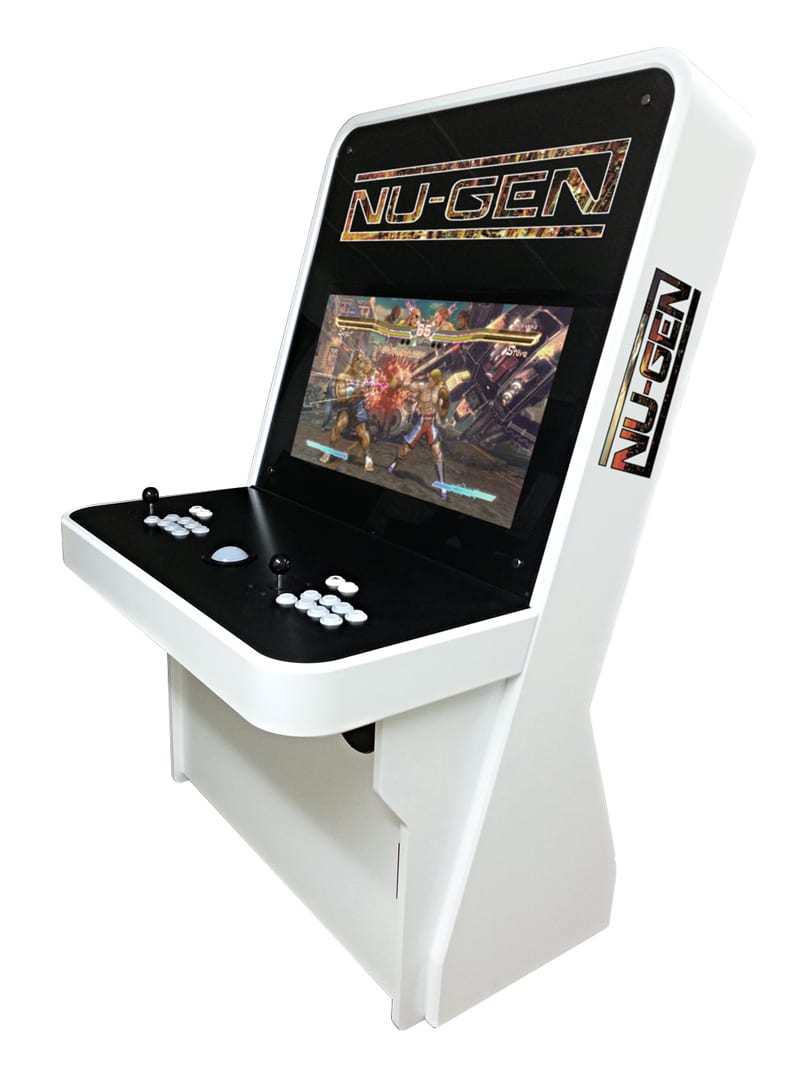 Nu Gen Bespoke Arcades with Custom Decals
