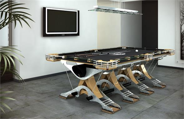 Hurricane Predator Pool Table Luxury Pool Table