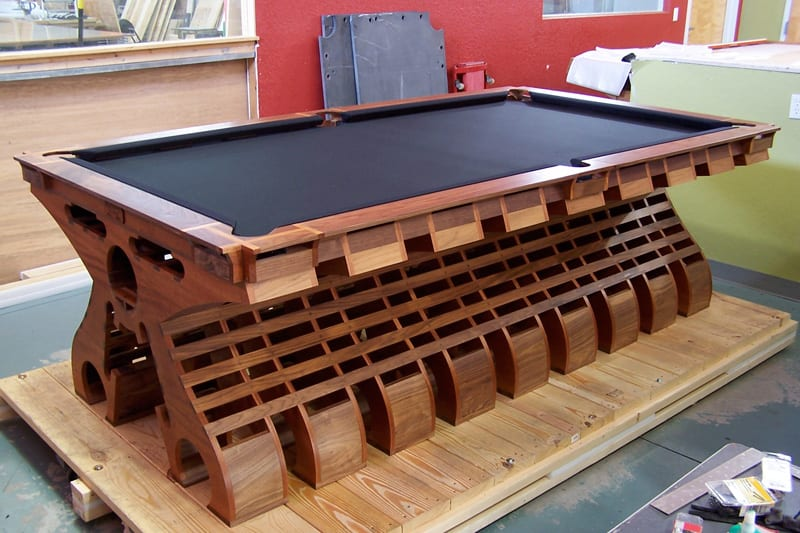 Hurricane Billiards VertX Pool Table - Complete in Workshop