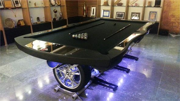 Hurricane Automaniac Pool Table - 8ft, 9ft