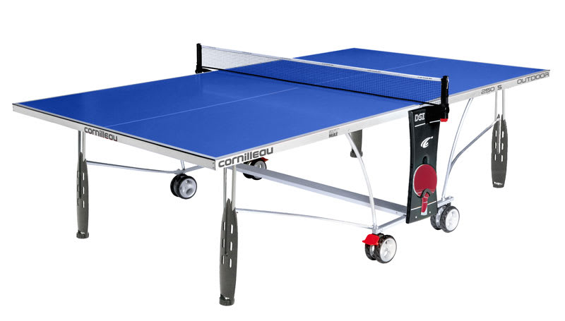 Sport 250S Outdoor Table Tennis Table - Blue