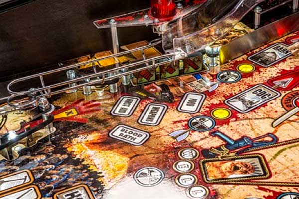 Stern The Walking Dead Pinball Machine - Left Ramp