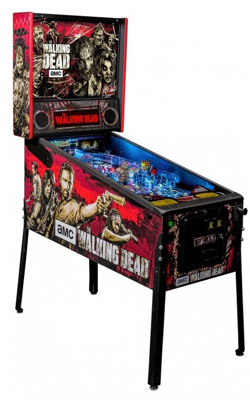 An image of Walking Dead Pro Pinball Machine
